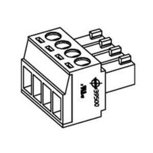Woodhead 0395000011 Eurostyle Terminal Block, 3.50mm Pitch Horizontal Plug, 11 Circuit
