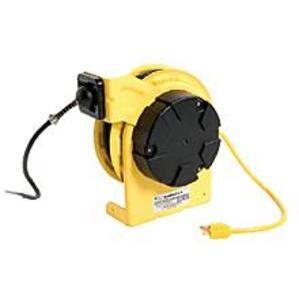 Woodhead 980 Cord Reel 50' #16-3 Sjow Nohandlamp