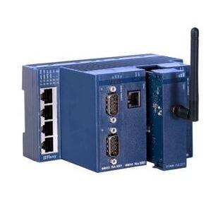 eWON FLEXY20100 Ethernet Router, Gateway, 4 Port, 12-24VDC, Open VPN 2.0, 10/100 Base