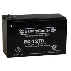 BC-1270 Sealed Lead Acid Battery, 12V, 7A