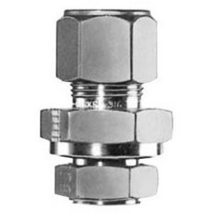 """E2552812 Connection Fitting, 3/8"""", Stainless Steel"""