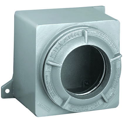 GR Series,9.5 X 10.5 X 5, Class I, II, III, BCDEFG, Cast Aluminum, Type 4, Viewing Lens Screw Cover Enclosure