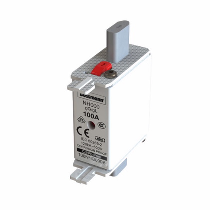 NH DIN Dual Indication Fuse Link, Size 000, 10 Amp, 690V