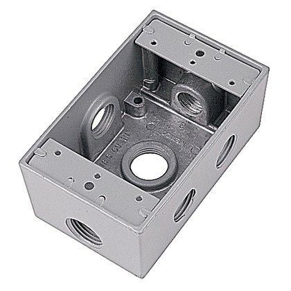 3/4inch D-T DEV BOX 6 HOLE SIDE
