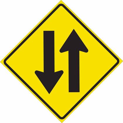 TRFC SIGN 2 WAY PICT REFL