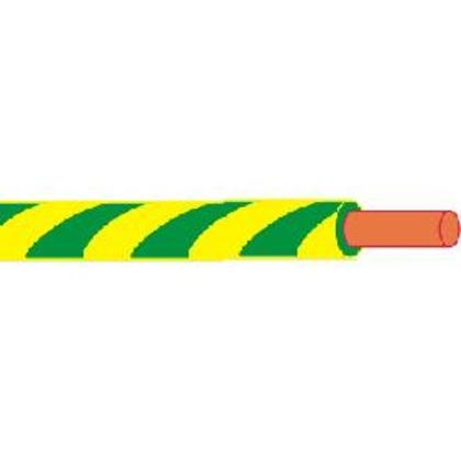 8 AWG THHN Stranded Copper, Yellow/Green, 500'