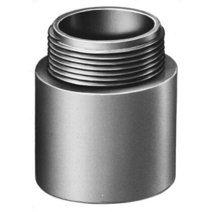 """1-1/4"""" PVC Male Terminal Adapter."""