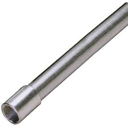 """Rigid Conduit, 1-1/4"""", Galvanized Steel, 10'"""
