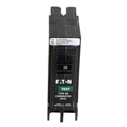 Breaker, 20A, 1P, 120/240V, 10 kAIC, Type BR Combo AFCI/GFCI