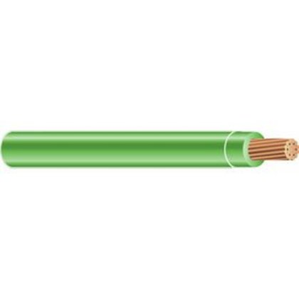 Type USE, 8 AWG, Stranded, Green, 1000'