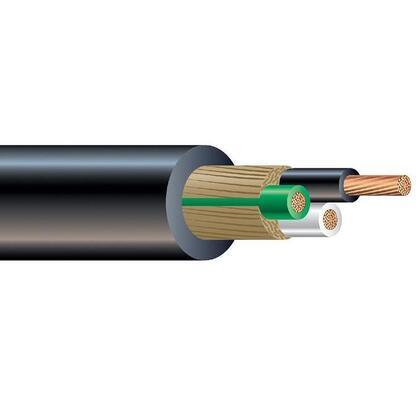 SOOW Portable Cord, 8/4, Black, 500'