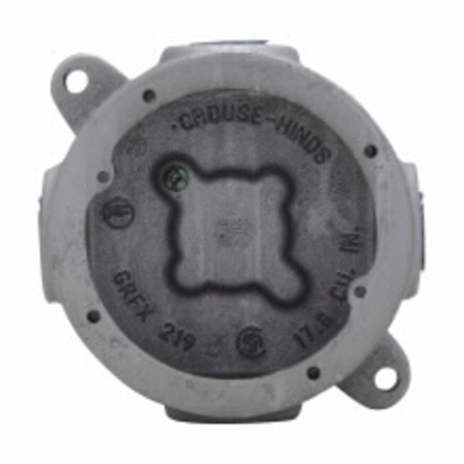 """Conduit Outlet Box, Type GRFX, (4) 3/4"""" Hubs, Malleable"""