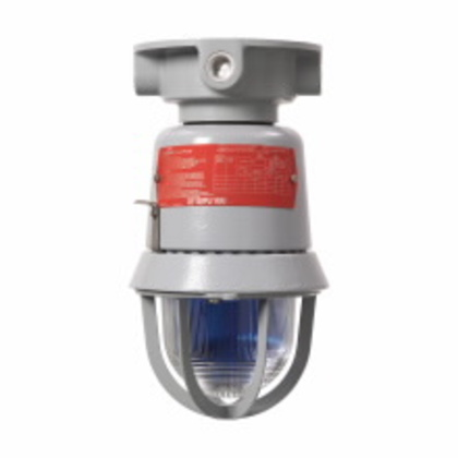 Beacon, Type: Strobe, 120VAC, NEMA 4X, Color: Red