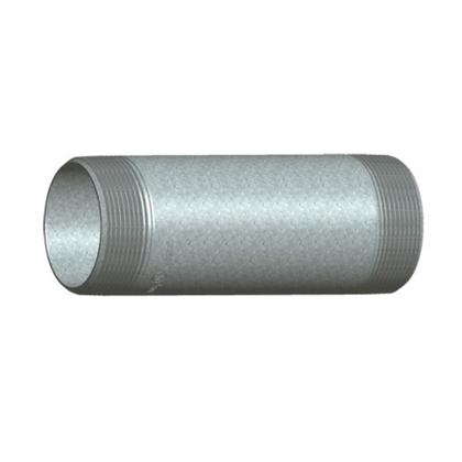 "Rigid Nipple, Threaded, Steel, 3-1/2"" x 12"" Long"