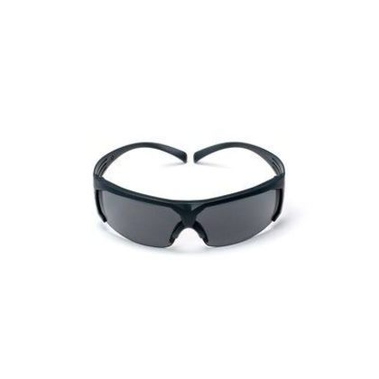 Safety Glasses, Gray, Rugged, Anti-Scratch Lens