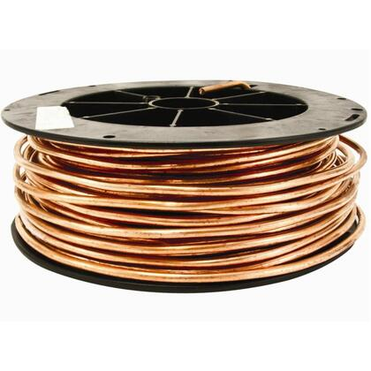 Bare Copper, Soft Drawn, 6 AWG, Solid, 500'