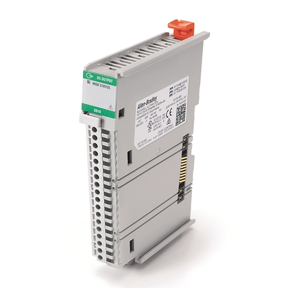 I/O Module, CompactLogix, 16 Channel, 24VDC, Source Output, Requires Terminal Kit