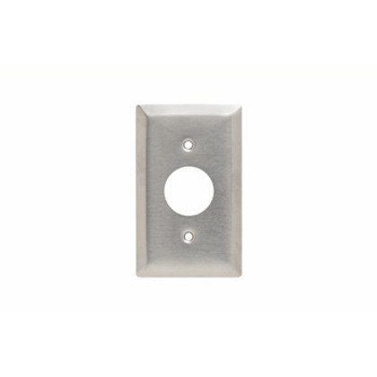 SMOOTH 302SS 1G TELEPHONE/CABLE YOKE