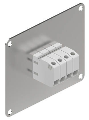 30-60 Amp Terminal Block Plate