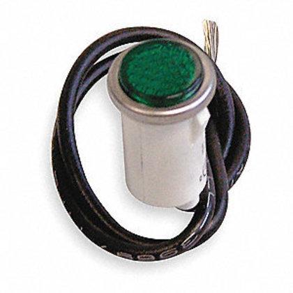 Indicator Light, Green, 125V, Flush