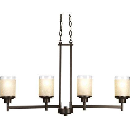 4-Lt. linear chandelier