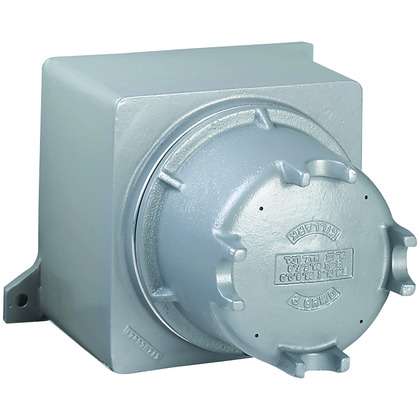 """GR Series, 7.06 x 8.31 x 11.93"""", Class I, II, III, BCDEFG, Cast Aluminum, Type 4, 4"""" Dome Screw Cover Enclosure"""