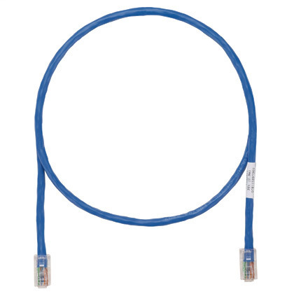 Patch Cord, Category 5e, UTP, RJ45, 24 AWG, Copper, Blue, 2 m