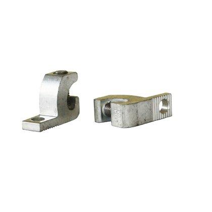 "Lay-In Lug, Aluminum, 14 - 1/0 AWG, 3/8"" Hole"