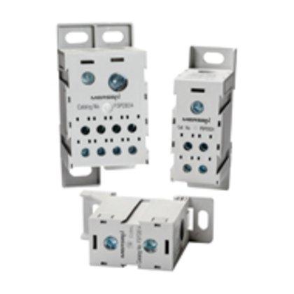 Power Distribution Block, Finger Safe, 310A, 1 Line, 8 Load, Aluminum