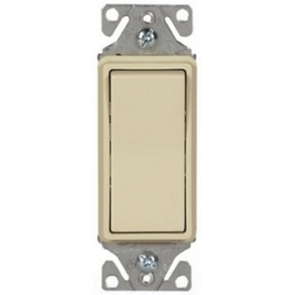 Switch Decorator SP LT 15A 120/277V IV