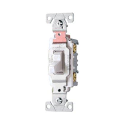 Switch Toggle 3Way 15A 120/277V Swire LA