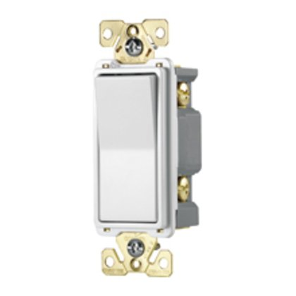 Switch Deco SP 20A 120/277V AutoGrd BR