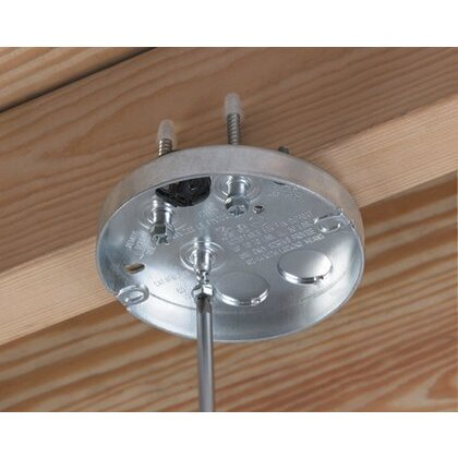 "STEEL PAN MT BX: 5/8"" DRYWALL - THR"
