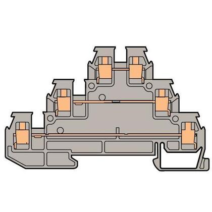 Three Level Sensor Terminal Block, Type: DR 2,5/6.D