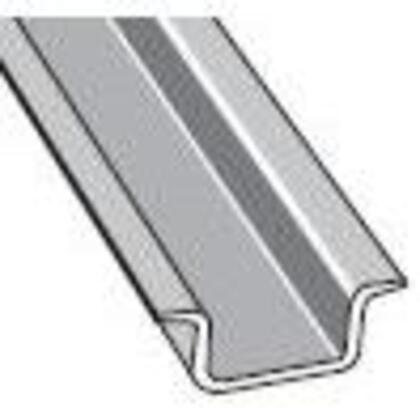 DIN Rail, Symetrical, Solid, 32mm x 15mm, 2m Long, Steel