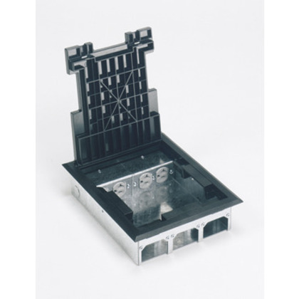 """Floor Box, Raised 2-1/2"""", Size: 9-1/8"""" x 11"""""""