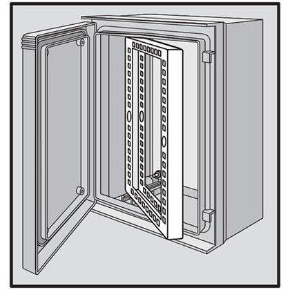 Swing-Out Rack Frame  11U