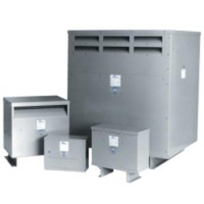 Transformer, Dry Type, Drive Isolation, 27KVA, 575 Delta; - 460Y/266VAC
