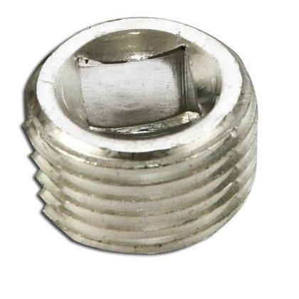 """Close-Up Plug, Recessed Head, 1/2"""", Explosionproof, Aluminum"""