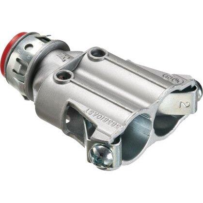 Snap-In Flex Connector, Duplex, AC/MC, 3/8 Inch, .370 to.490 Range