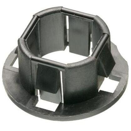 """Snap-In Knockout Bushing, 1-1/2"""",Plastic"""