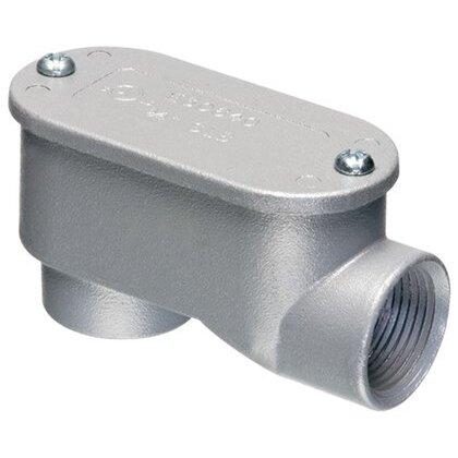 "Conduit Body, Type SLB, 3/4"", Cover/Gasket, Aluminum"