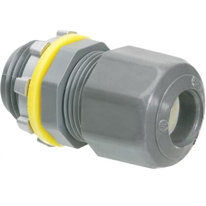 "Cord Connector, Low Profile, 1/2"", Non-Metallic"