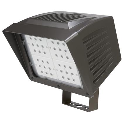 Flood Light, LED, 84.19W, 120-277V, Black