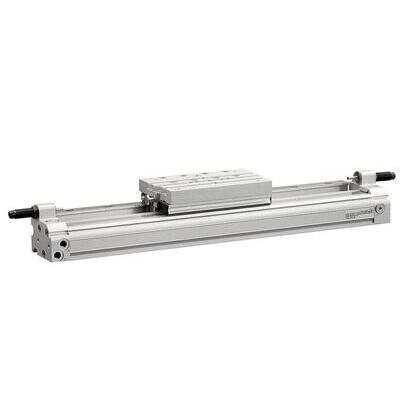 """Pneumatic Cylinder, 63mm Dia., 16"""" Stroke, HD, Low Speed"""
