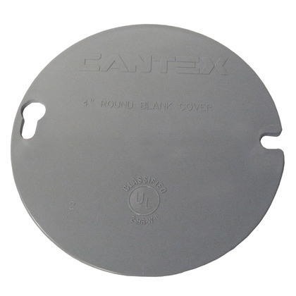 4 ROUND BLANK COVER