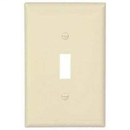 WALLPLATE 1G TOGGLE POLY MID AL