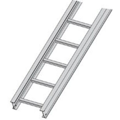 """Cable Tray, Ladder Type, Aluminum, 9"""" Rung Spacing, 12"""" Wide, 20' Long"""