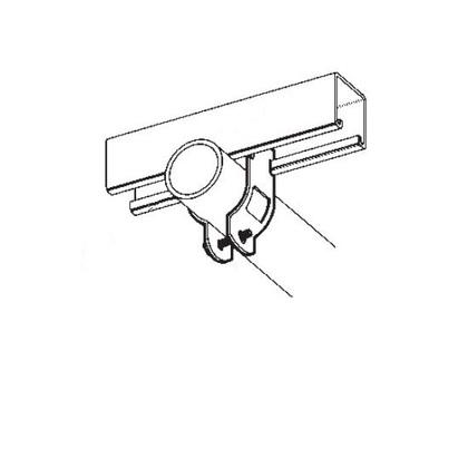 B-LINE BPC-8 BREAK-APART CLAMP, 1/2