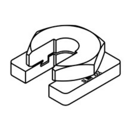 BUZZNUT, 1/2-IN.-13 THREAD, ZINC PLATED